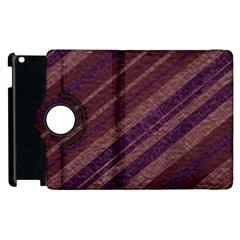Stripes Course Texture Background Apple iPad 2 Flip 360 Case by Nexatart