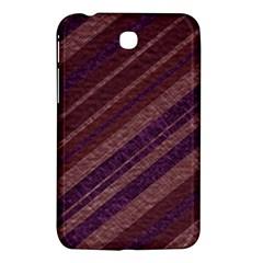 Stripes Course Texture Background Samsung Galaxy Tab 3 (7 ) P3200 Hardshell Case  by Nexatart