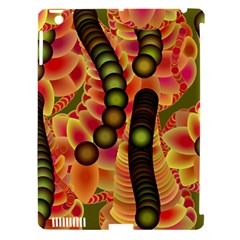 Abstract Background Digital Green Apple Ipad 3/4 Hardshell Case (compatible With Smart Cover) by Nexatart