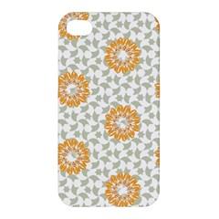 Stamping Pattern Fashion Background Apple Iphone 4/4s Hardshell Case by Nexatart