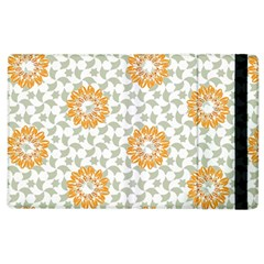 Stamping Pattern Fashion Background Apple Ipad 3/4 Flip Case by Nexatart