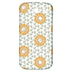 Stamping Pattern Fashion Background Samsung Galaxy S3 S Iii Classic Hardshell Back Case by Nexatart