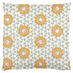 Stamping Pattern Fashion Background Large Flano Cushion Case (two Sides) by Nexatart
