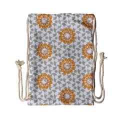 Stamping Pattern Fashion Background Drawstring Bag (small) by Nexatart