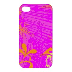 Spring Tropical Floral Palm Bird Apple Iphone 4/4s Premium Hardshell Case by Nexatart