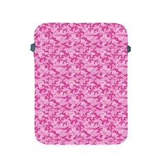 Shocking Pink Camouflage Pattern Apple Ipad 2/3/4 Protective Soft Cases by tarastyle
