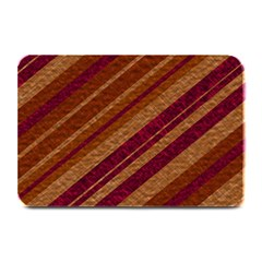 Stripes Course Texture Background Plate Mats by Nexatart