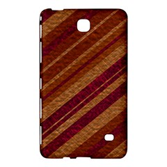 Stripes Course Texture Background Samsung Galaxy Tab 4 (8 ) Hardshell Case  by Nexatart