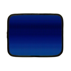 Blue Dot Netbook Case (small)  by PhotoNOLA