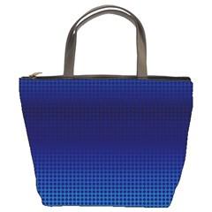Blue Dot Bucket Bags by PhotoNOLA