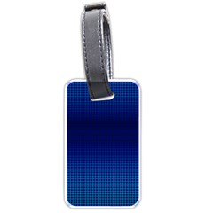 Blue Dot Luggage Tags (two Sides) by PhotoNOLA