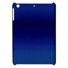 Blue Dot Apple Ipad Mini Hardshell Case by PhotoNOLA