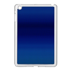 Blue Dot Apple Ipad Mini Case (white) by PhotoNOLA