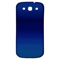 Blue Dot Samsung Galaxy S3 S Iii Classic Hardshell Back Case by PhotoNOLA