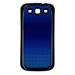 Blue Dot Samsung Galaxy S3 Back Case (black) by PhotoNOLA
