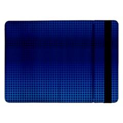 Blue Dot Samsung Galaxy Tab Pro 12 2  Flip Case by PhotoNOLA