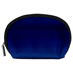 Blue Dot Accessory Pouches (large)  by PhotoNOLA