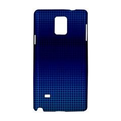 Blue Dot Samsung Galaxy Note 4 Hardshell Case by PhotoNOLA