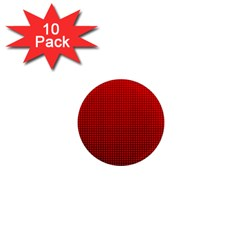 Redc 1  Mini Magnet (10 Pack)  by PhotoNOLA