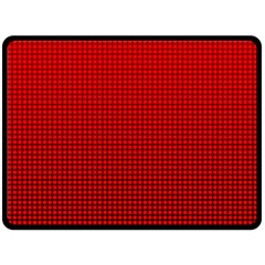 Redc Fleece Blanket (large)  by PhotoNOLA