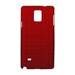 Redc Samsung Galaxy Note 4 Hardshell Case by PhotoNOLA
