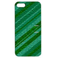 Stripes Course Texture Background Apple Iphone 5 Hardshell Case With Stand by Nexatart