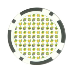St Patrick S Day Background Symbols Poker Chip Card Guard by Nexatart