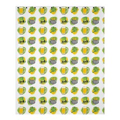 St Patrick S Day Background Symbols Shower Curtain 60  X 72  (medium)  by Nexatart