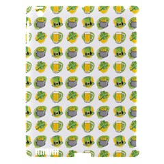 St Patrick S Day Background Symbols Apple Ipad 3/4 Hardshell Case (compatible With Smart Cover) by Nexatart