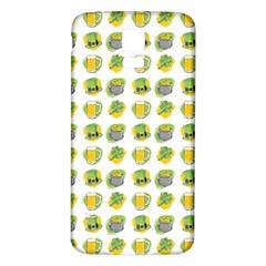 St Patrick S Day Background Symbols Samsung Galaxy S5 Back Case (white) by Nexatart