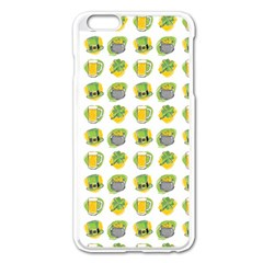 St Patrick S Day Background Symbols Apple Iphone 6 Plus/6s Plus Enamel White Case by Nexatart