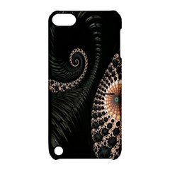 Fractal Black Pearl Abstract Art Apple Ipod Touch 5 Hardshell Case With Stand by Nexatart