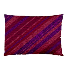 Stripes Course Texture Background Pillow Case (two Sides) by Nexatart