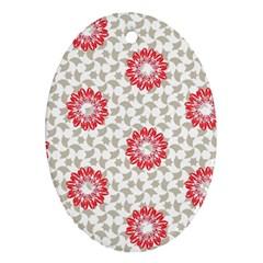 Stamping Pattern Fashion Background Ornament (oval) by Nexatart