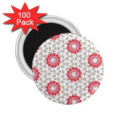 Stamping Pattern Fashion Background 2 25  Magnets (100 Pack)  by Nexatart