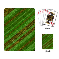 Stripes Course Texture Background Playing Card by Nexatart