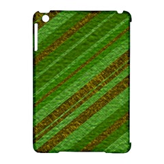 Stripes Course Texture Background Apple Ipad Mini Hardshell Case (compatible With Smart Cover) by Nexatart