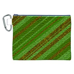 Stripes Course Texture Background Canvas Cosmetic Bag (xxl) by Nexatart