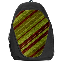 Stripes Course Texture Background Backpack Bag by Nexatart