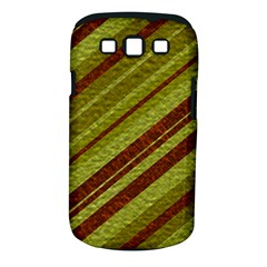 Stripes Course Texture Background Samsung Galaxy S Iii Classic Hardshell Case (pc+silicone) by Nexatart