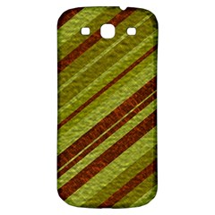 Stripes Course Texture Background Samsung Galaxy S3 S Iii Classic Hardshell Back Case by Nexatart
