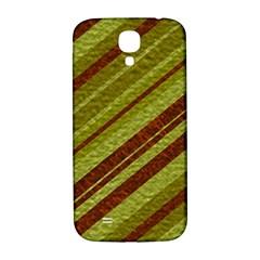 Stripes Course Texture Background Samsung Galaxy S4 I9500/i9505  Hardshell Back Case by Nexatart