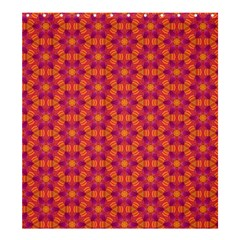 Pattern Abstract Floral Bright Shower Curtain 66  X 72  (large)  by Nexatart