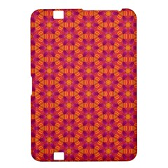 Pattern Abstract Floral Bright Kindle Fire Hd 8 9  by Nexatart