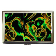 Glowing Fractal A Cigarette Money Cases by Fractalworld