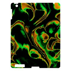 Glowing Fractal A Apple Ipad 3/4 Hardshell Case by Fractalworld