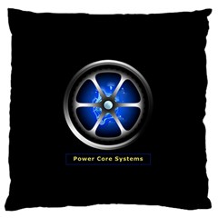 Power Core Standard Flano Cushion Case (one Side) by linceazul