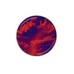 Sky Pattern Hat Clip Ball Marker by Valentinaart