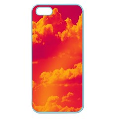 Sky Pattern Apple Seamless Iphone 5 Case (color) by Valentinaart