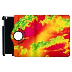 Sky Pattern Apple Ipad 2 Flip 360 Case by Valentinaart